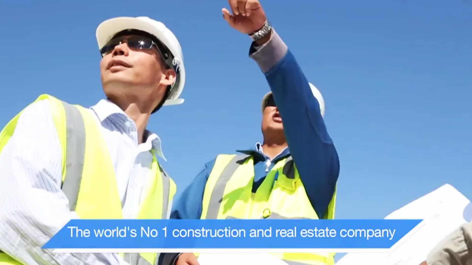 Corporate video for china state construction